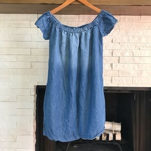 [Anthropologie] Cloth & Stone Chambray Dress